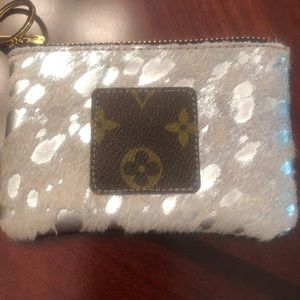 Custom Louie Vuitton zip wallet